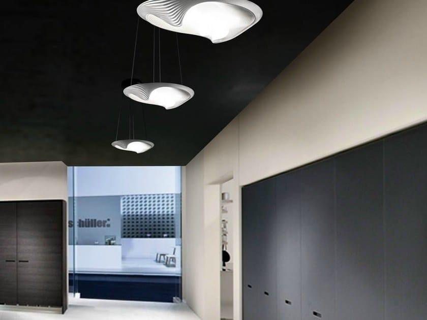 Lampada a sospensione a luce indiretta SESTESSA SOSPESA LED - Cini&Nils