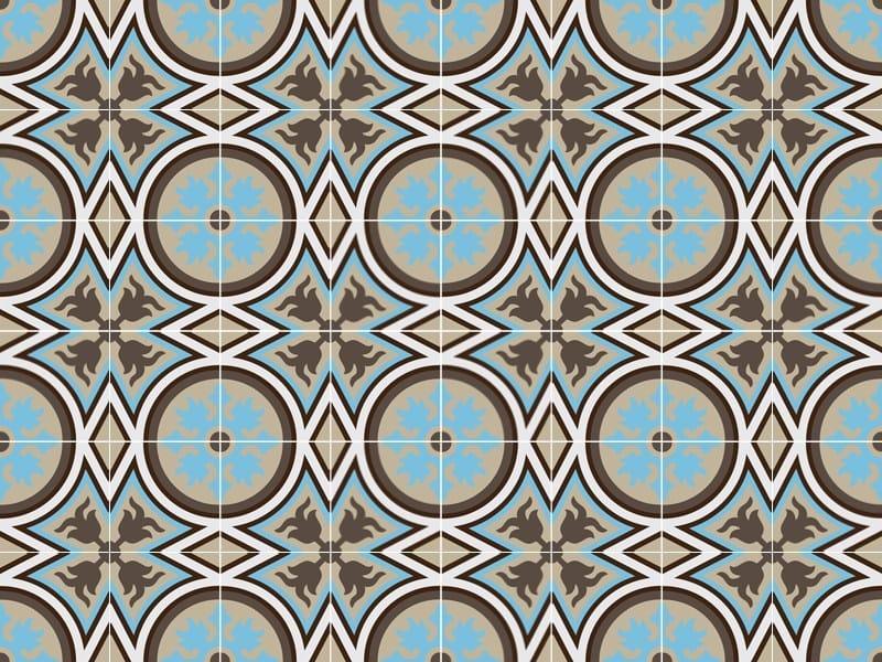 Indoor/outdoor cement wall/floor tiles ODYSSEAS 251 by TsourlakisTiles