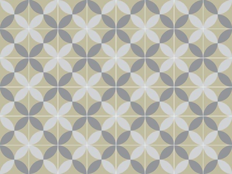 Indoor/outdoor cement wall/floor tiles ODYSSEAS 297 by TsourlakisTiles