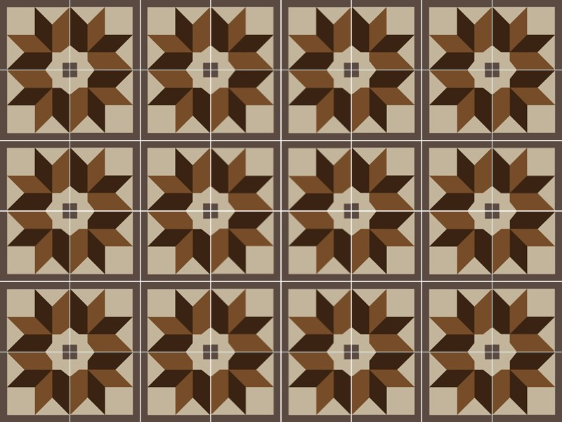 Indoor/outdoor cement wall/floor tiles ODYSSEAS 296 - TsourlakisTiles