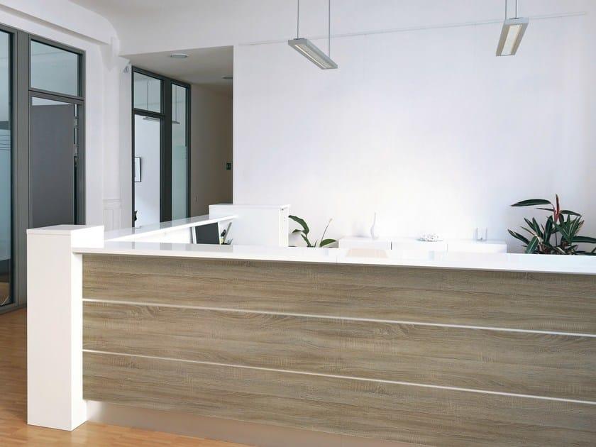 Mobili In Legno Design: Pareti divisorie in legno per ufficio di ...