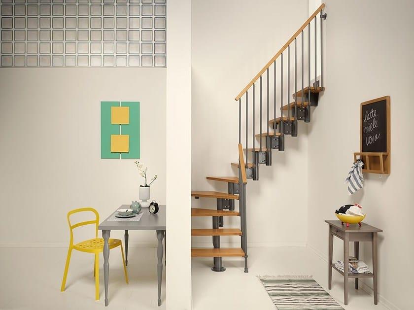 Birch Mini-staircase NICE4 - Fontanot Spa