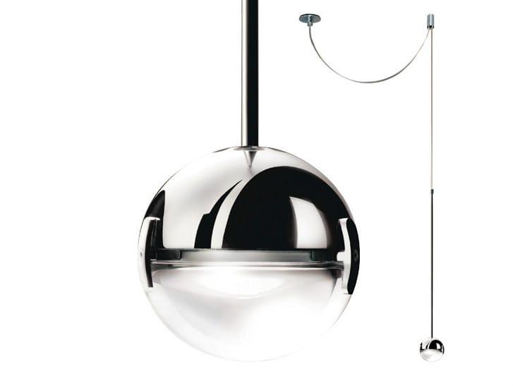 LED pendant lamp CONVIVIO LED SOPRATAVOLO DECENTRATA - Cini&Nils