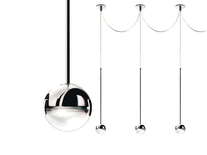 LED pendant lamp CONVIVIO LED SOPRATAVOLO MULTIPLA by Cini&Nils