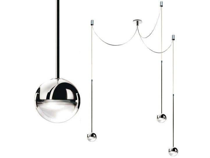 LED pendant lamp CONVIVIO LED SOPRATAVOLO TRE by Cini&Nils