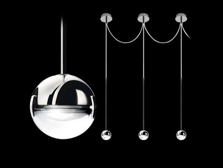 Metal pendant lamp CONVIVIO NEW LED SOPRATAVOLO MULTIPLA - Cini&Nils