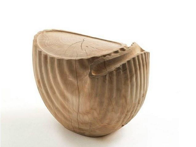Solid wood stool PIPA - Riva 1920