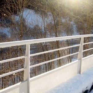 Barriera stradale in alluminio ringhiera stradale aluscalae - Altezza parapetti finestre normativa ...