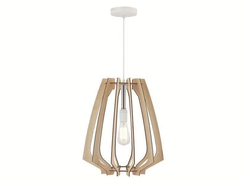 Birch pendant lamp CAGE - ENVY