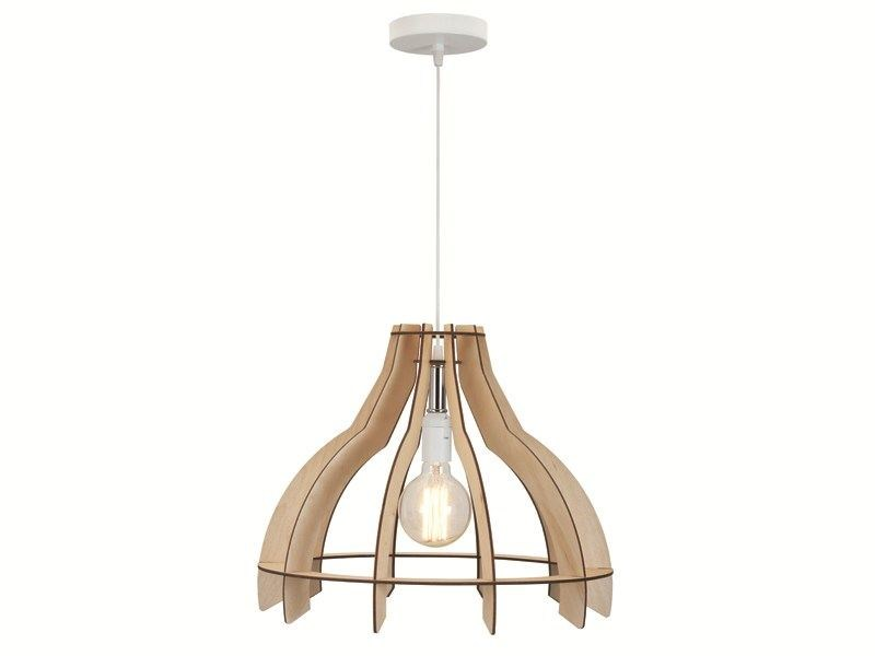 Plywood pendant lamp FOCUS - ENVY
