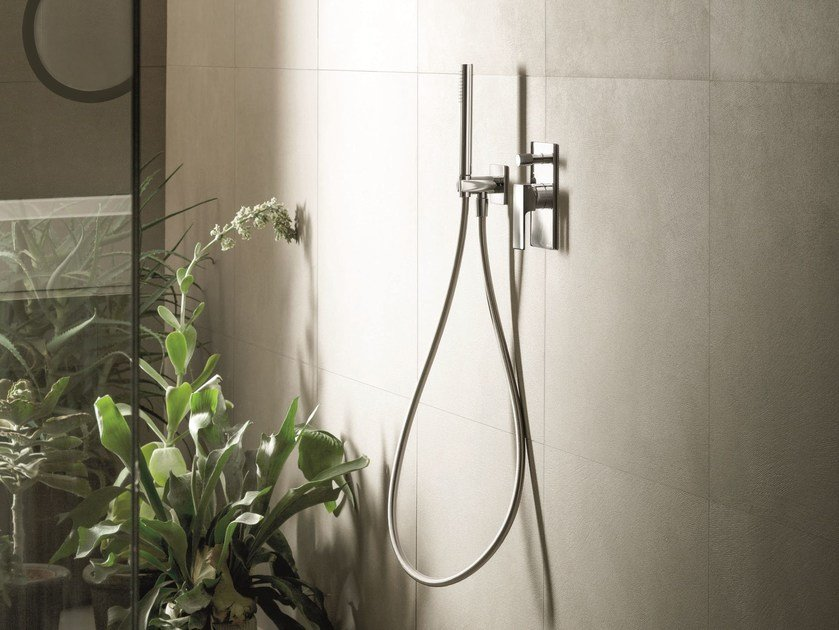 Shower mixer with diverter with hand shower MINT | Shower mixer with hand shower - Fantini Rubinetti