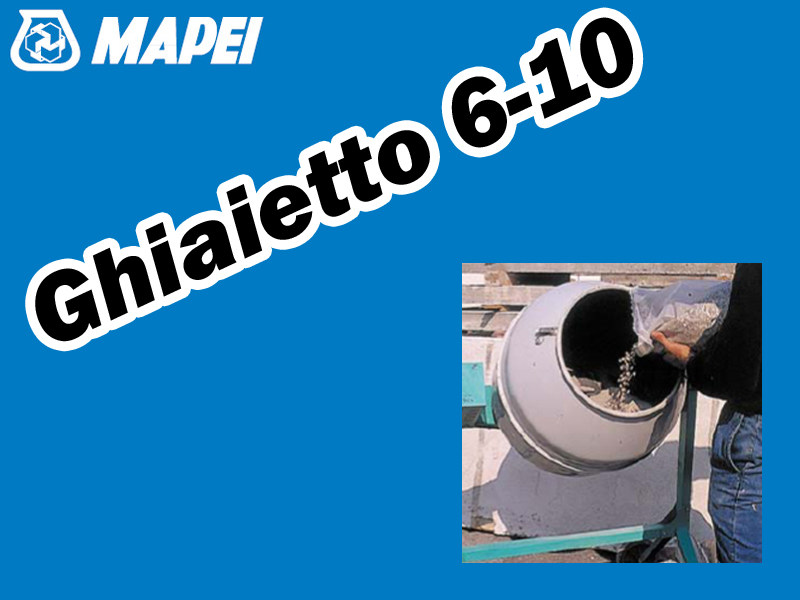 Gravel GHIAIETTO 6-10 - MAPEI