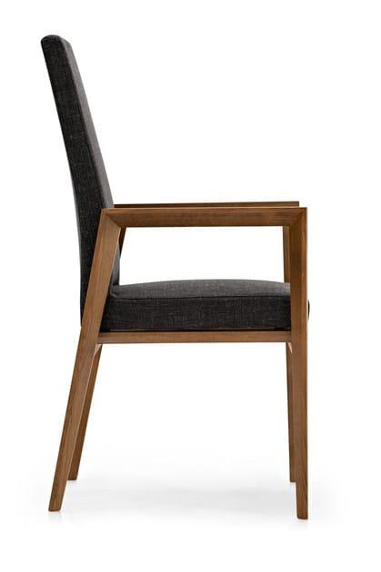 Sedia in pelle con braccioli bess sedia con braccioli calligaris - Sedia bess calligaris ...