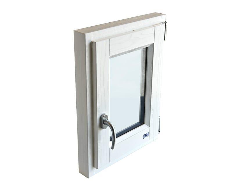 Ash top-hung window ALASKA | Top-hung window - BG legno