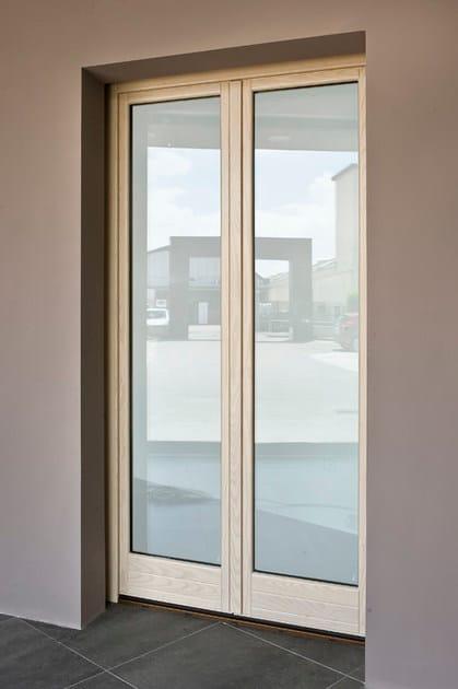 Porta finestra ad anta ribalta in frassino alaska porta finestra ad anta ribalta bg legno - Finestre in frassino ...