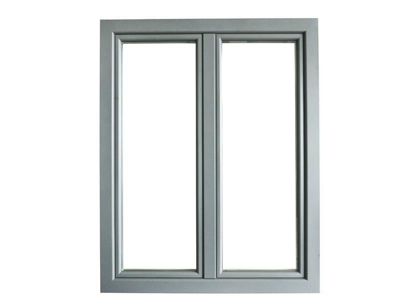 Aluminium and wood casement window ETERNA | Window - BG legno