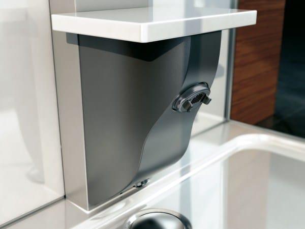 Box doccia multifunzione con bagno turco mynima 90 - Colonna doccia bagno turco ...