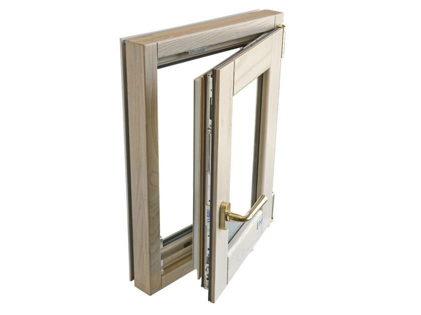 Finestra ad anta ribalta in frassino eterna finestra ad anta ribalta bg legno - Finestre in frassino ...