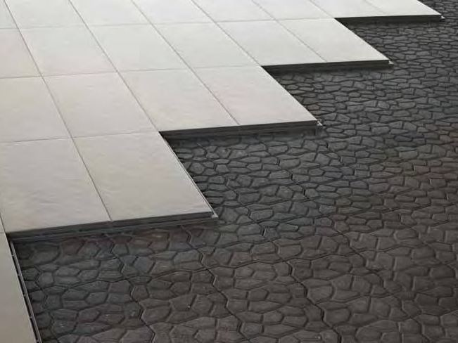 Self-adhesive Ceramic materials flooring ARSRATIO by Casalgrande Padana