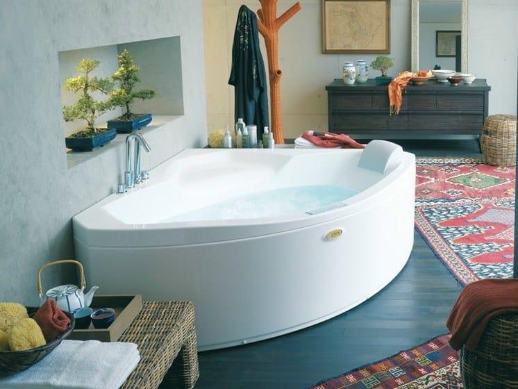 Corner whirlpool bathtub UMA | Whirlpool bathtub - Jacuzzi Europe