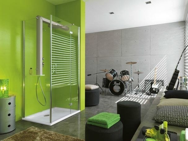 Crystal shower wall panel START! 80 | Shower wall panel - Jacuzzi Europe