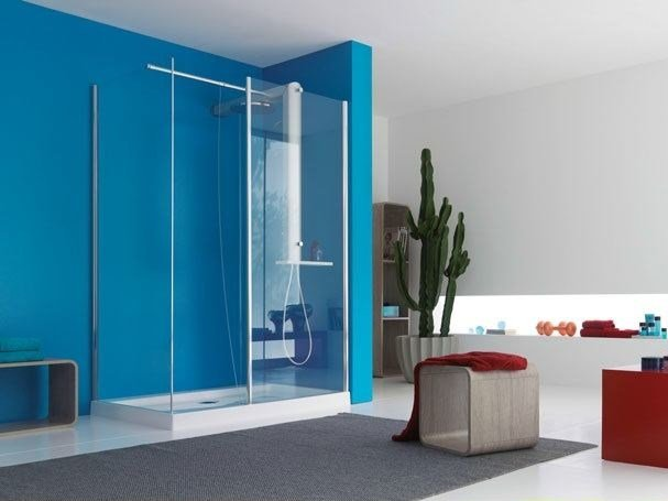 Crystal shower wall panel START! 90 | Shower wall panel - Jacuzzi Europe