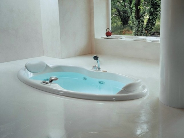 Whirlpool built-in bathtub ELIPSA - Jacuzzi Europe