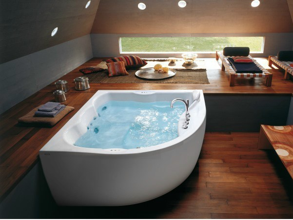 whirlpool badewanne designs jacuzzi. Black Bedroom Furniture Sets. Home Design Ideas