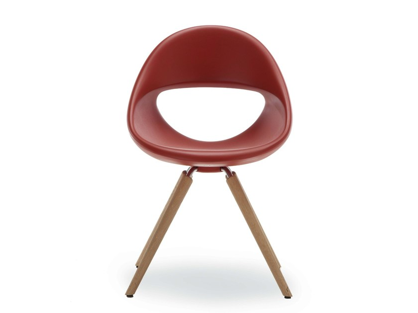 Chair with 4-spoke base LUCKY 906   Chair by Tonon