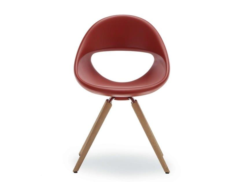 Chair with 4-spoke base LUCKY 906 | Chair - Tonon