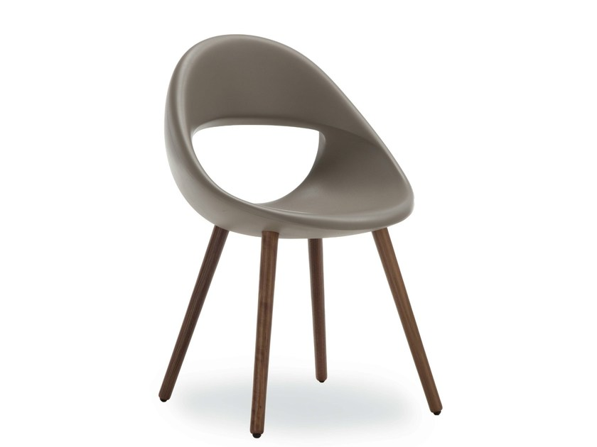 Chair with 4-spoke base LUCKY 906 | Chair - Tonon