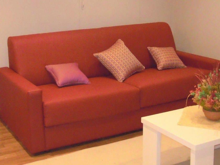 2 seater imitation leather leisure sofa ZEUS | Sofa by Mobilspazio