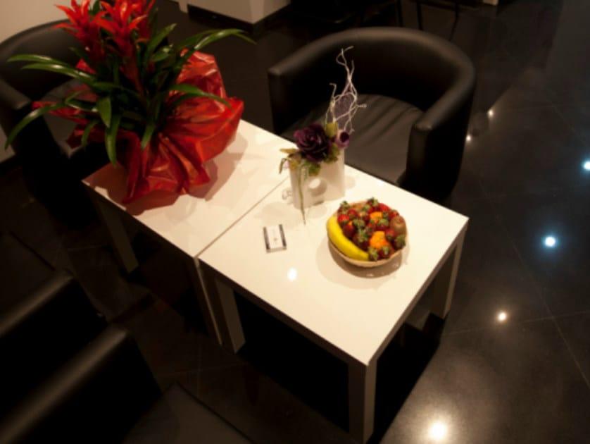 Square contract table ZEUS | Contract table - Mobilspazio