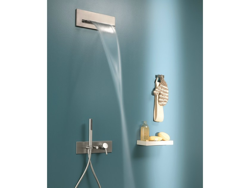 Shower mixer with diverter with overhead shower ALA | Shower mixer with overhead shower by Fantini Rubinetti