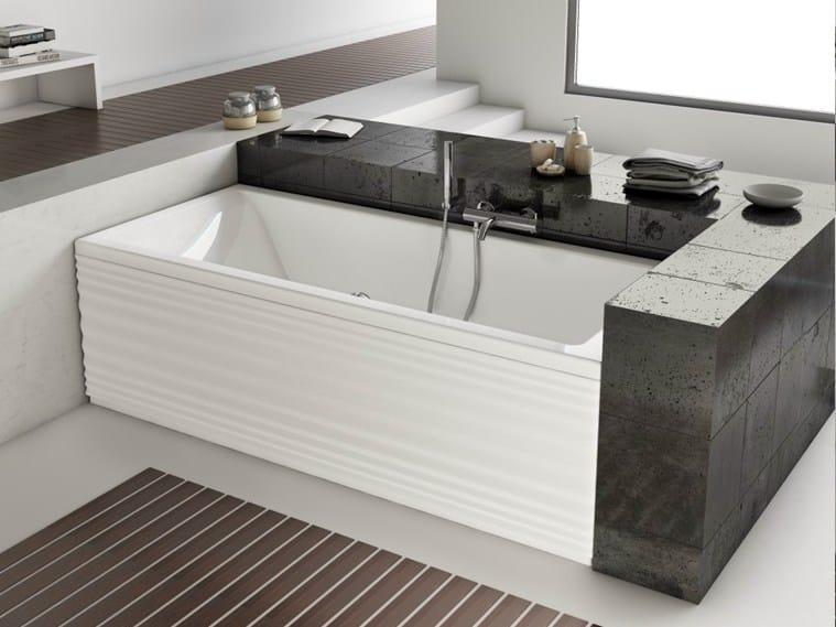 Vasca da bagno rettangolare da incasso moove vasca da bagno jacuzzi - Vasca da bagno incasso prezzi ...