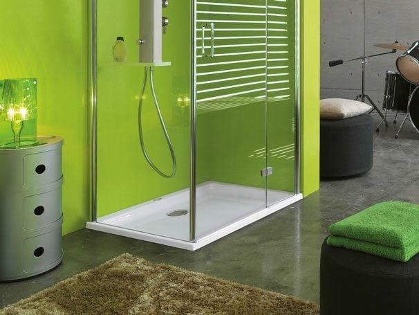 Rectangular acrylic shower tray START!   Shower tray - Jacuzzi Europe