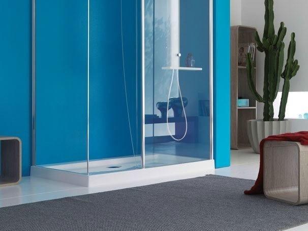 Design rectangular acrylic shower tray START! 90 | Rectangular shower tray by Jacuzzi Europe