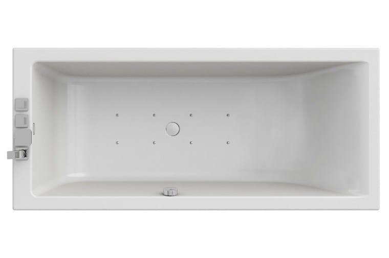 Vasca da bagno idromassaggio rettangolare moove blower - Vasca da bagno rettangolare ...