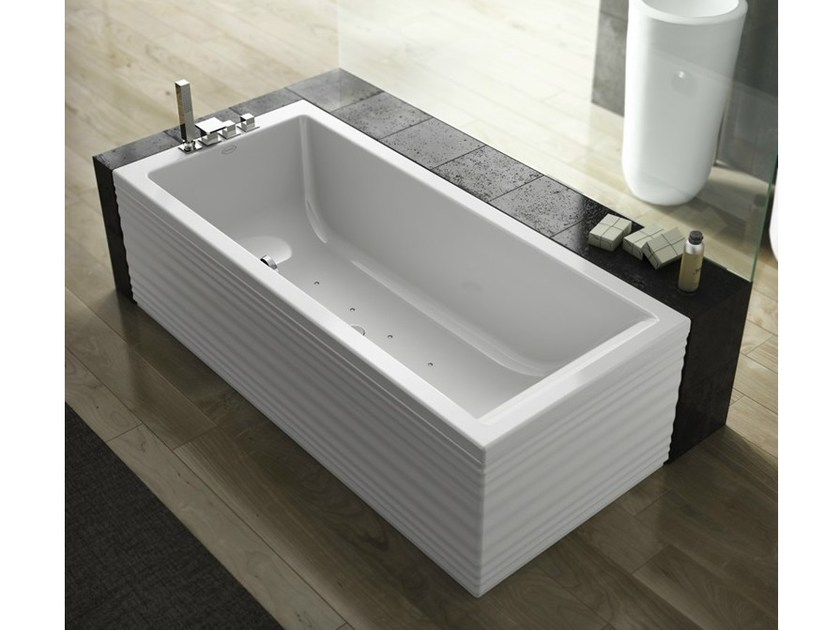 Vasca da bagno idromassaggio rettangolare moove blower jacuzzi - Vasca da bagno rettangolare ...