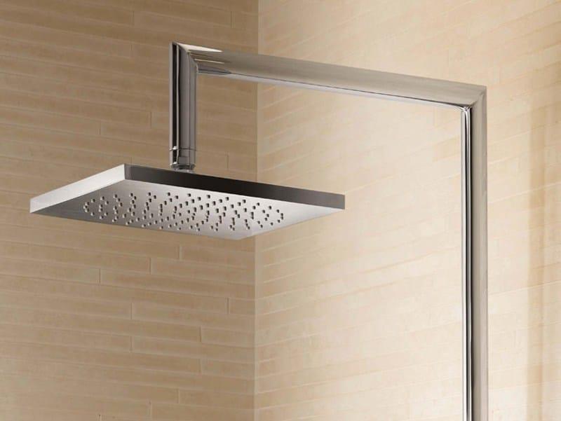Colonna doccia da terra con doccetta con soffione colonna doccia da terra fantini rubinetti - Soffione doccia da incasso ...