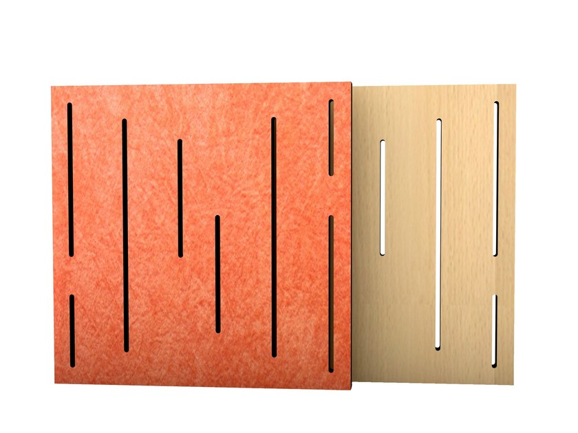 MDF decorative acoustical panel VARI PANEL PRO by Vicoustic by Exhibo