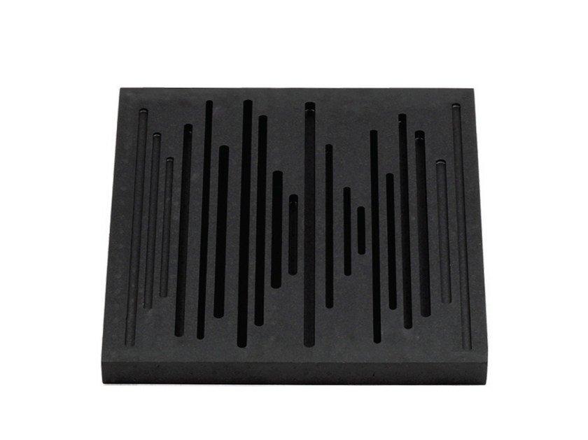 EPS decorative acoustical panels WAVEWOOD DIFFUSER - Vicoustic by Exhibo