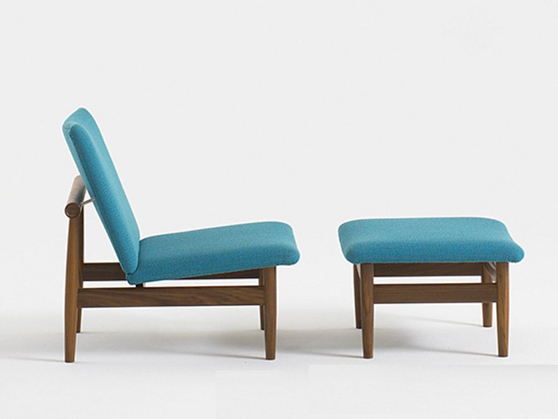 Upholstered fabric easy chair JAPAN | Easy chair - Onecollection