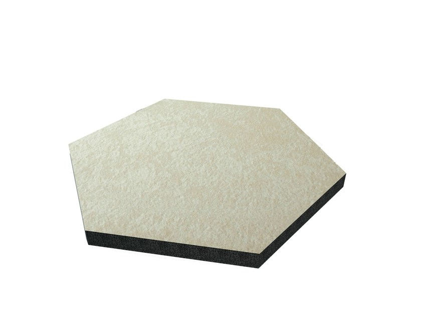Foam decorative acoustical panel VIXAGON TECH PREMIUM by Vicoustic by Exhibo