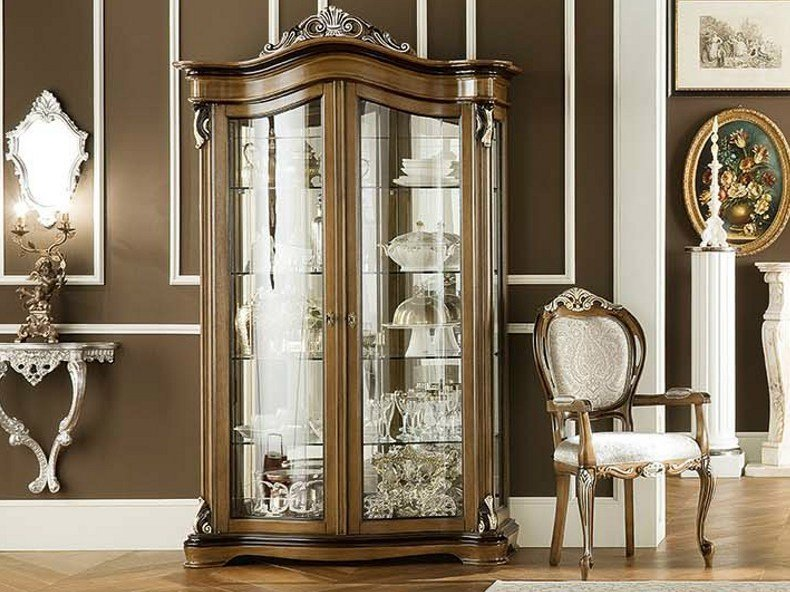 Wooden display cabinet 13123 | Display cabinet - Modenese Gastone group