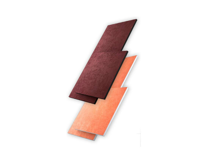 Fabric decorative acoustical panel FLAT PANEL PREMIUM by Vicoustic by Exhibo