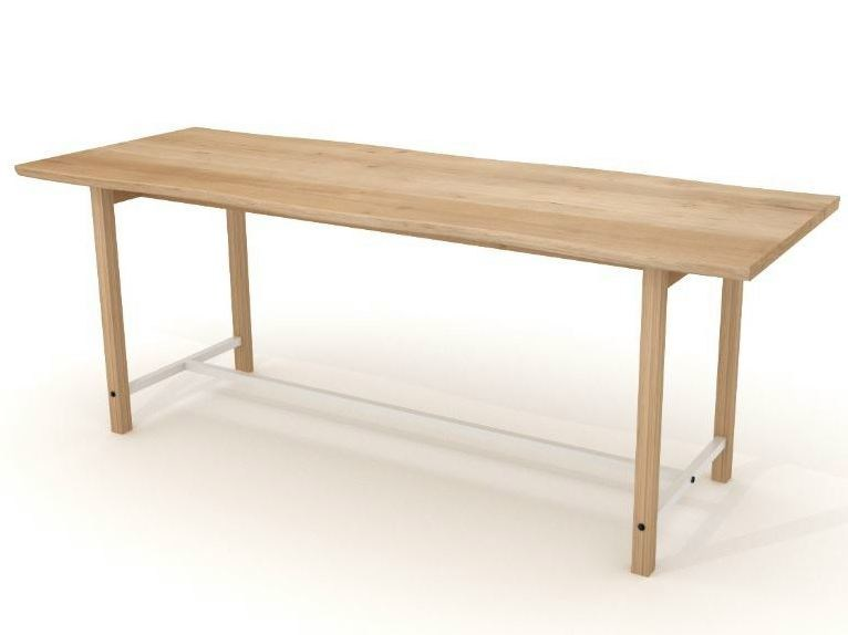 Rectangular oak table SQUEEZE | Table by Universo Positivo