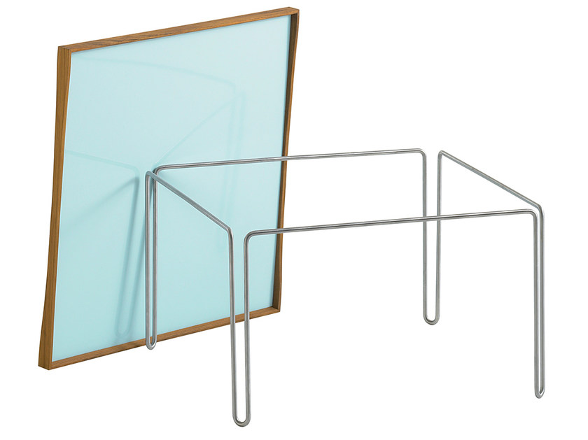 Low modular laminate coffee table TRAY TABLE - Onecollection