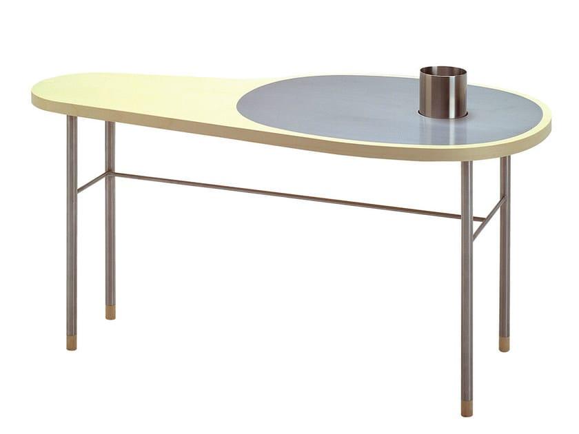 Low wood veneer coffee table ROSS - Onecollection