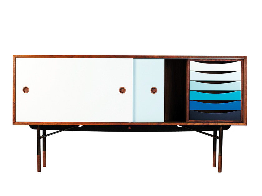 Lacquered wooden sideboard FJ | Sideboard - Onecollection